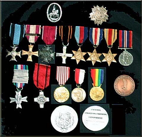 His Medals